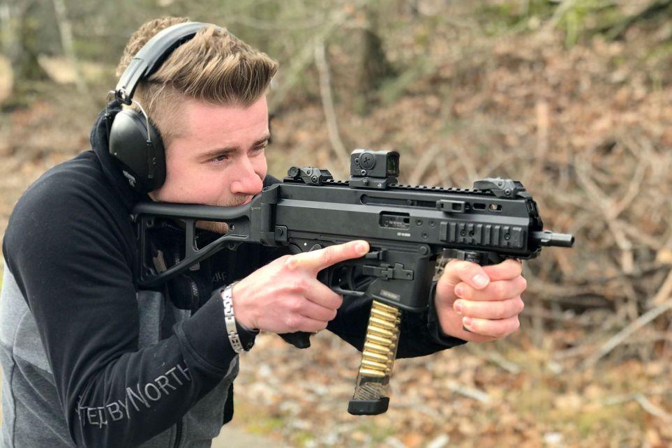Pistolová karabina Brügger & Thomet